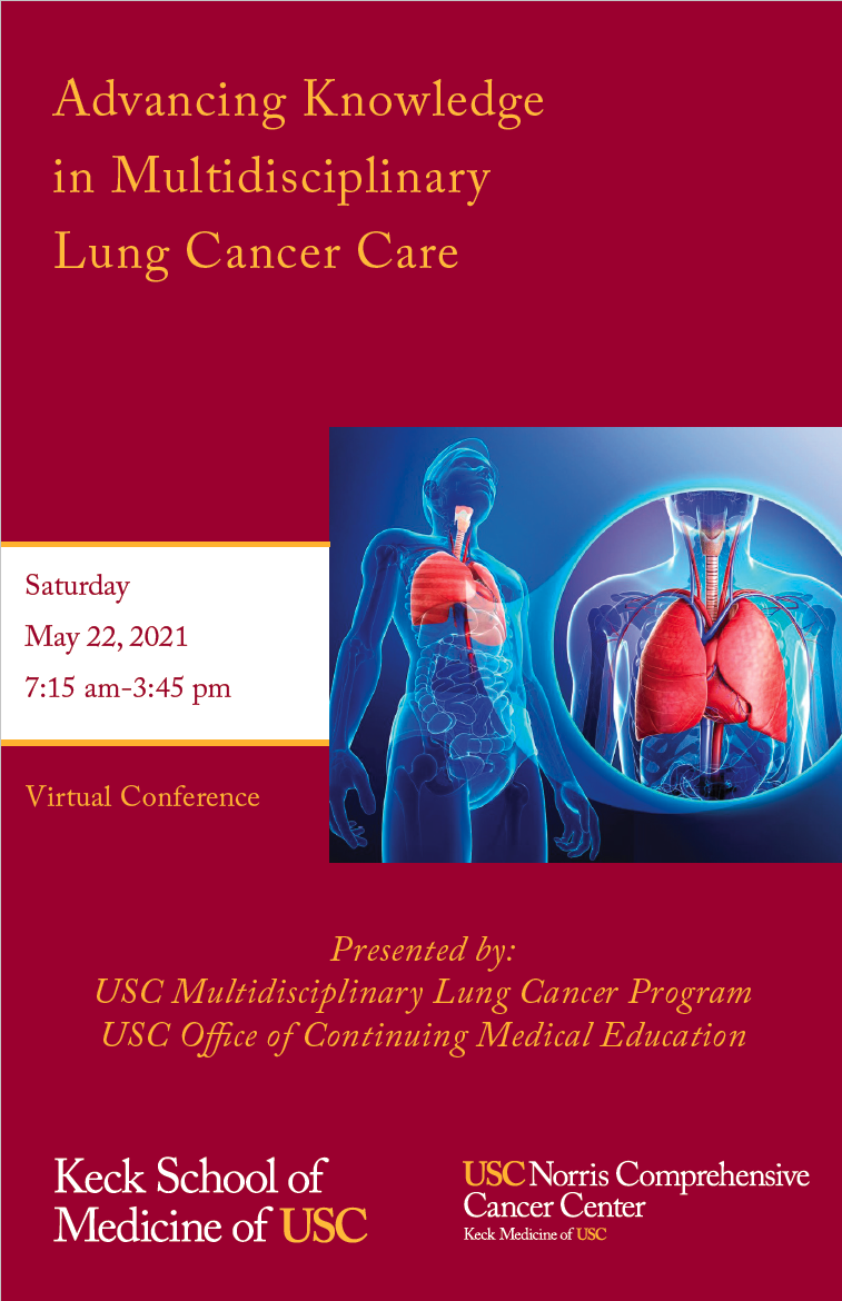 Advancing Knowledge in Multidisciplinary Lung Cancer Care Banner