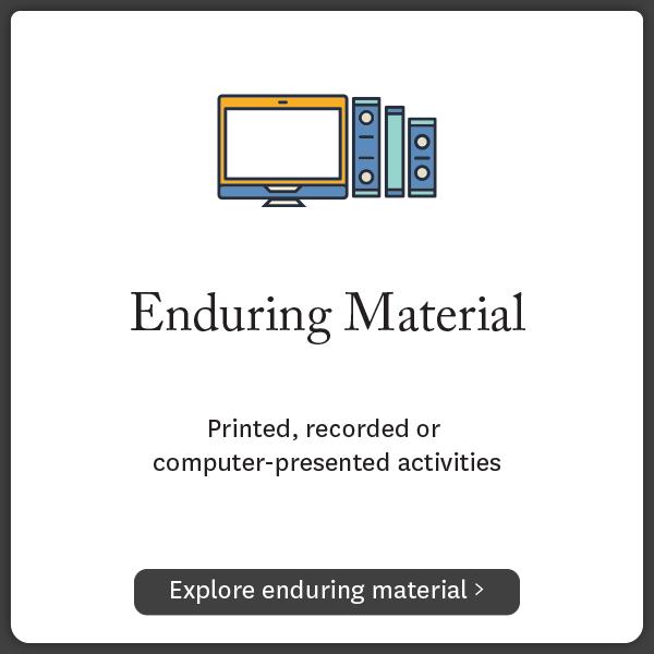 Enduring Materials